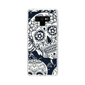 Sugar Skulls Samsung Galaxy Note 9 Clear Case