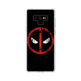 Deadpool Sign Samsung Galaxy Note 9 Clear Case