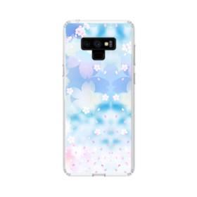 Sakura Aurora Samsung Galaxy Note 9 Clear Case