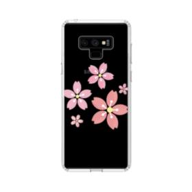 Sakura Flowers Samsung Galaxy Note 9 Clear Case