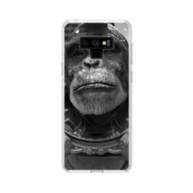 Space Chimp Samsung Galaxy Note 9 Clear Case