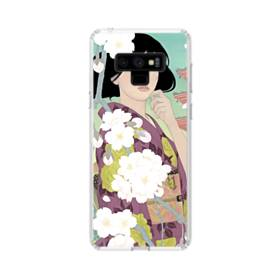 Japanese Girl Samsung Galaxy Note 9 Clear Case