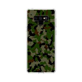 Army Camo Camouflage Samsung Galaxy Note 9 Clear Case