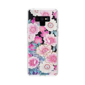 Japanese Flower Samsung Galaxy Note 9 Clear Case