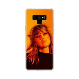 Taylor Swift Photoshoot Samsung Galaxy Note 9 Clear Case