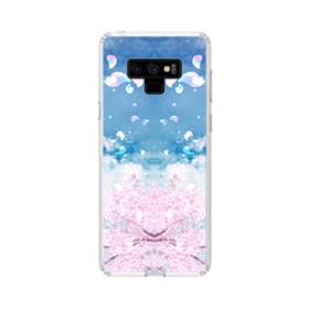 Sakura Petal Samsung Galaxy Note 9 Clear Case