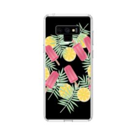 Summer Icecream Samsung Galaxy Note 9 Clear Case