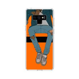 Rodeo Illustration Samsung Galaxy Note 9 Clear Case