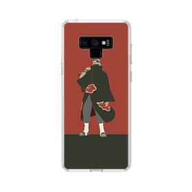 Naruto Red Samsung Galaxy Note 9 Clear Case