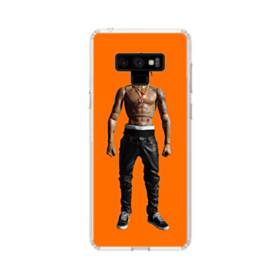 Rodeo Action Figure Samsung Galaxy Note 9 Clear Case
