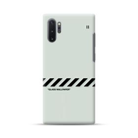 Glass Wallpaper Samsung Galaxy Note 10 Plus Case Case Custom