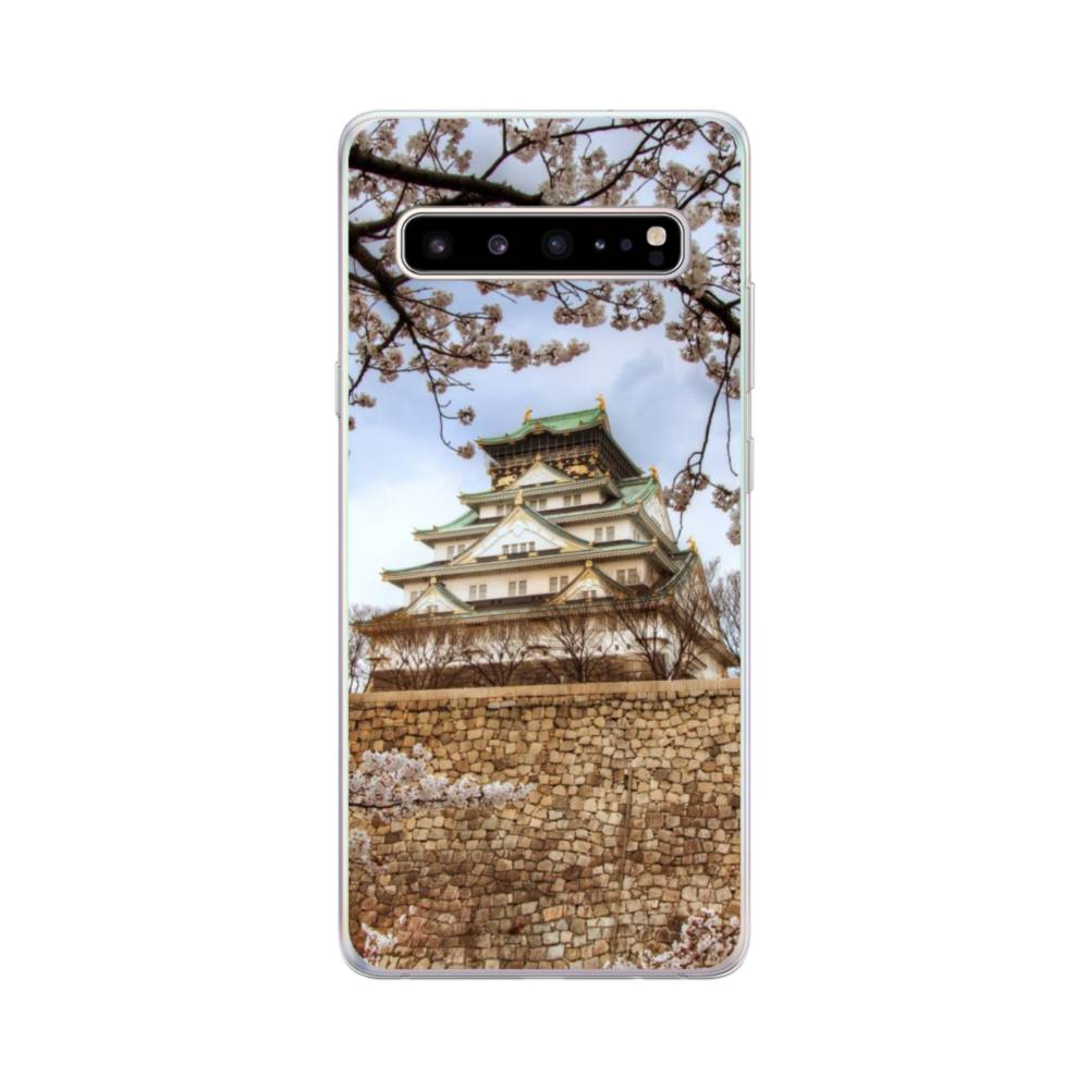 Pagoda Sunset Samsung S10 Case