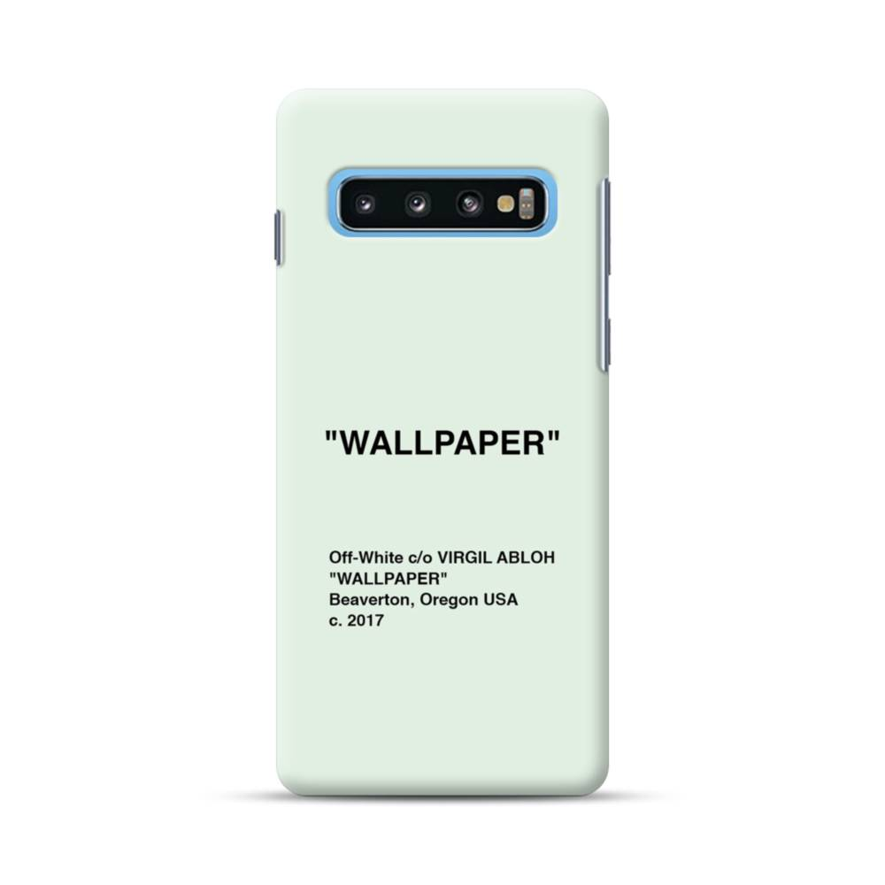 Wallpaper Minimalism Samsung Galaxy S10 Plus Case Case Custom