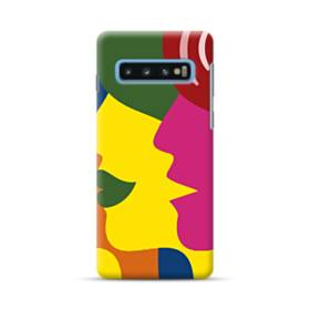 Colorful Faces Samsung Galaxy S10 Plus Case