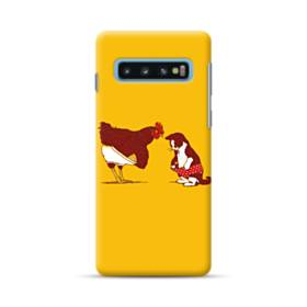 Chick And Cat Samsung Galaxy S10 Plus Case