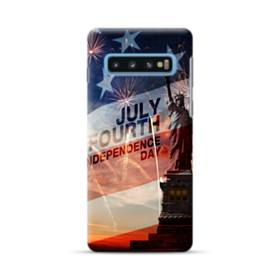 Independence Day Usa Statue Of Liberty Samsung Galaxy S10 Plus Case