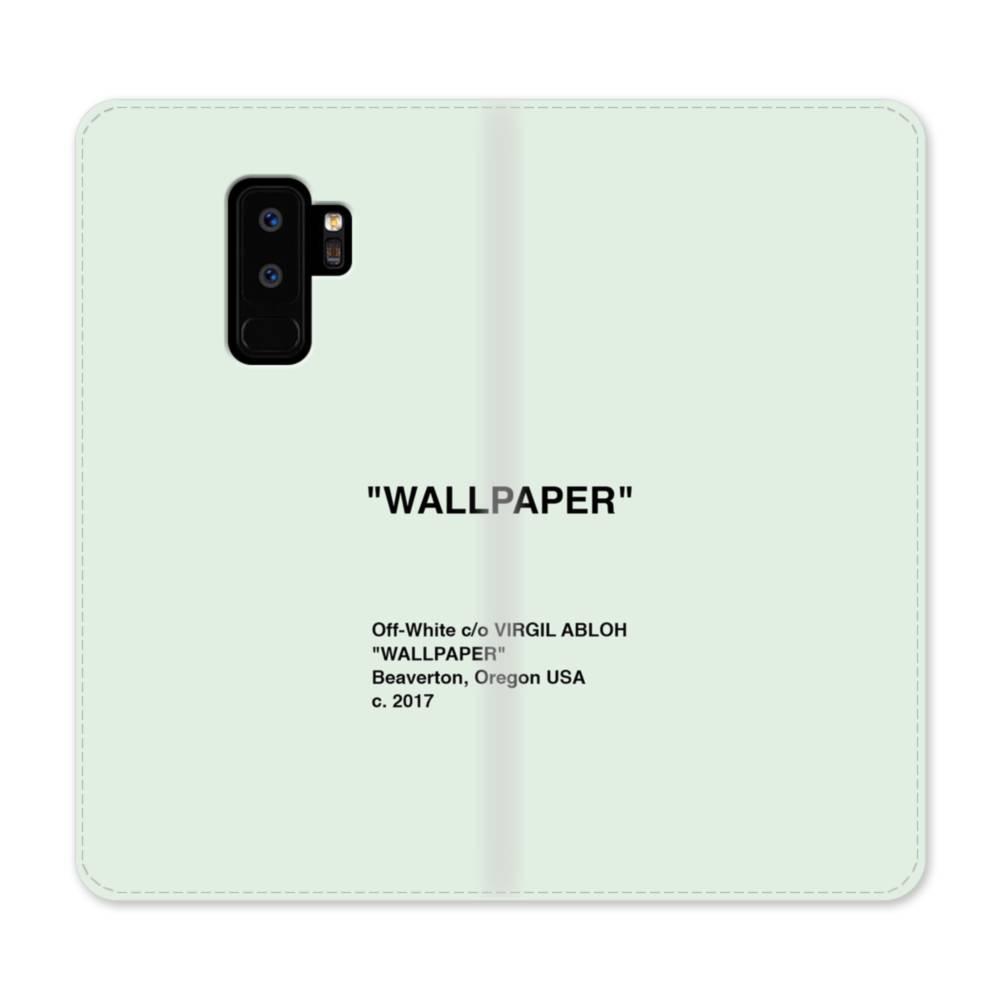 Wallpaper Minimalism Samsung Galaxy S9 Plus Flip Case Case Custom