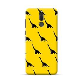 Dinosaurs Patterns Yellow Huawei Mate 10 Lite Case