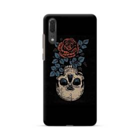 Rose And Skull Huawei P20 Case