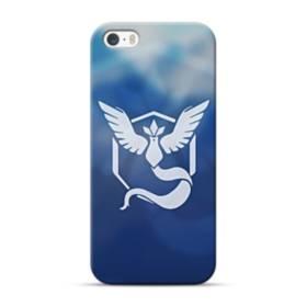 Pokemon Go Logo Team Mystic iPhone 5S, 5 Case
