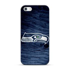 Seattle Seahawks Wood Texture iPhone 5S, 5 Case
