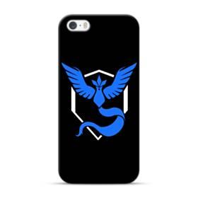 Pokemon Go Team Mystic Blue Logo iPhone 5S, 5 Case