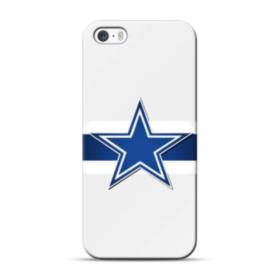 Transparent Dallas Cowboys Logo iPhone 5S, 5 Case