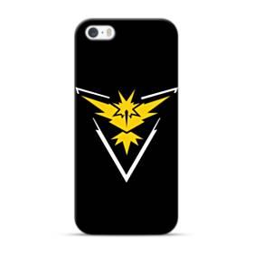 Pokemon Go Team Instinct Yellow Logo iPhone 5S, 5 Case