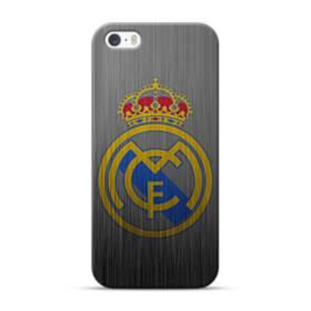 Real Madrid Metal Logo iPhone 5S, 5 Case