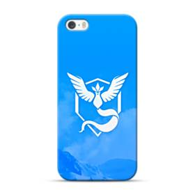 Pokemon Go Logo Team Mystic Blue iPhone 5S, 5 Case
