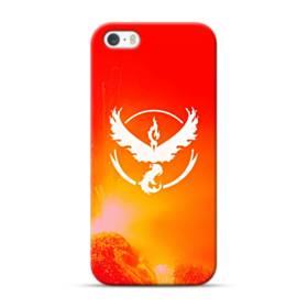 Pokemon Go Logo Team Valor Red iPhone 5S, 5 Case