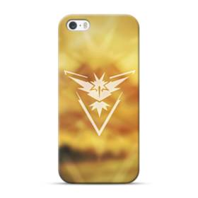 Pokemon Go Logo Team Instinct iPhone 5S, 5 Case