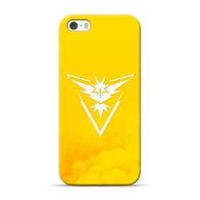 Pokemon Go Logo Team Instinct Yellow iPhone 5S, 5 Case