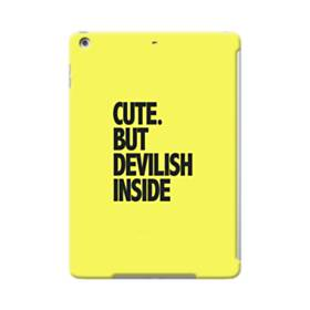Cute But Devilish Inside iPad Air Case