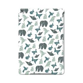 Origami Animals Pattern Illustration iPad Air Case