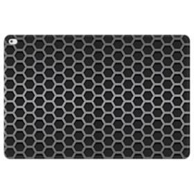 Silver Metallic Grid iPad Pro 12.9 (2015) Folio Leather Case