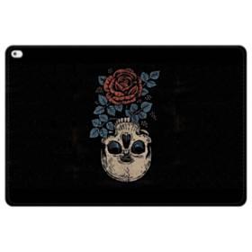 Rose And Skull iPad Pro 12.9 (2015) Folio Leather Case