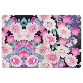 Japanese Flower iPad Pro 12.9 (2015) Folio Leather Case