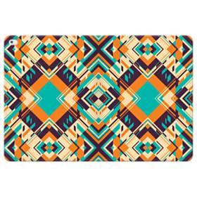 Digital Geometric Pattern iPad Pro 12.9 (2015) Folio Leather Case