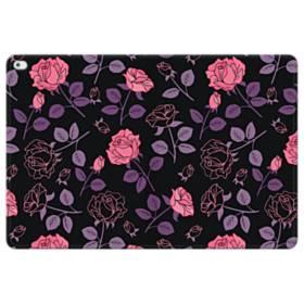 Rose Illustration iPad Pro 12.9 (2015) Folio Leather Case