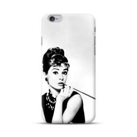 Audrey Hepburn Portrait Vintage Black And White iPhone 6S/6 Plus Case
