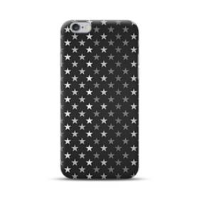 Stars Pattern Black And White iPhone 6S/6 Plus Case