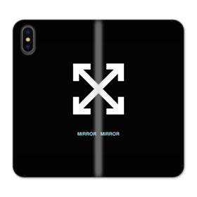 Arrows Mirror iPhone X Flip Case