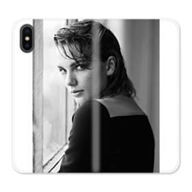 Taylor Swift Photo iPhone X Flip Case