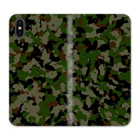 Army Camo Camouflage iPhone X Flip Case