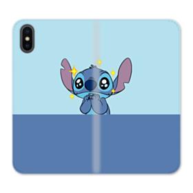 Stitch Plead iPhone X Flip Case