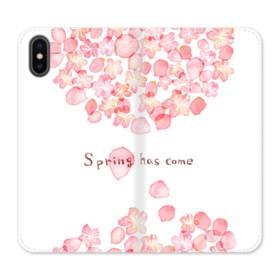 Spring Has Come iPhone X Flip Case