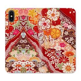 Vintage Flower iPhone X Flip Case