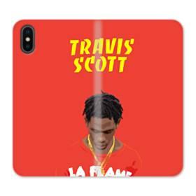 Travis Scott Poster iPhone X Flip Case