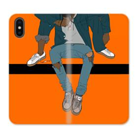 Rodeo Illustration iPhone X Flip Case